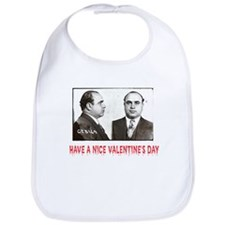 Al Capone Have a Nice Valentines Day Bib
