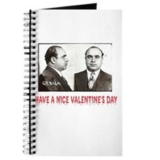 Al Capone Have a Nice Valentines Day Journal
