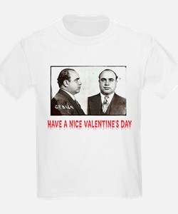 Al Capone Have a Nice Valentines Day Kids T-Shirt