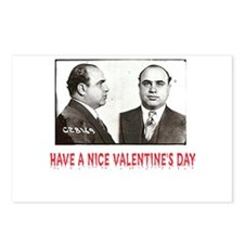 Al Capone Have a Nice Valentines Day Postcards (Pa