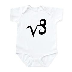 Capricorn Sign Gift Gear Infant Creeper