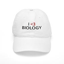 I <3 Biology Baseball Cap