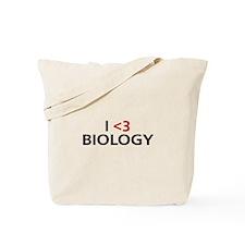 I <3 Biology Tote Bag