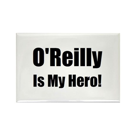 O Reilly is my hero Rectangle Magnet (10 pack)