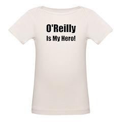 O Reilly is my hero Organic Baby T-Shirt