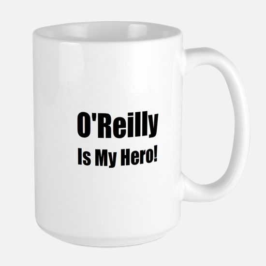 O Reilly is my hero Large Mug
