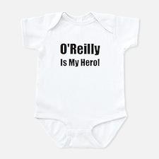 O Reilly is my hero Infant Bodysuit