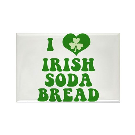 Love Irish Soda Bread Rectangle Magnet by irishcurlys