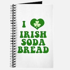 I Love Irish Soda Bread Journal