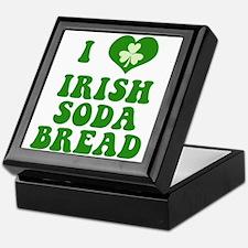 I Love Irish Soda Bread Keepsake Box