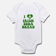 I Love Irish Soda Bread Infant Bodysuit