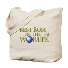 Best Boss in the World Tote Bag
