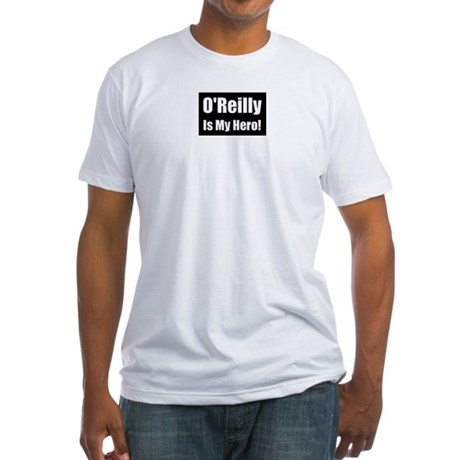 O Reilly is my hero Fitted T-Shirt
