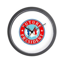 Future President Wall Clock