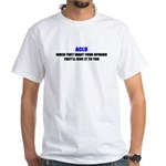 ACLU Tyranny White T-Shirt