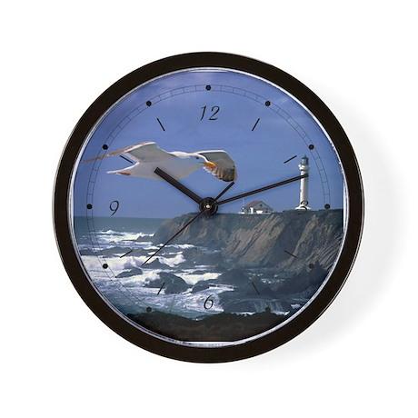 Lighthouse & Seagull Wall Clock
