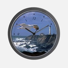 Lighthouse & Seagull Wall Clock