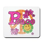 Vintage Peace Mousepad