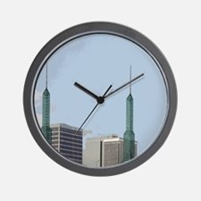 Symbolic Of East Side Wall Clock