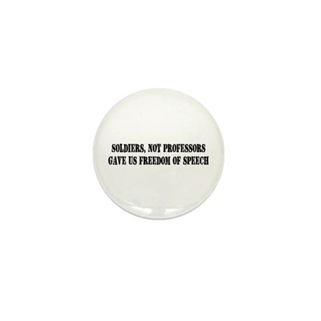 Soldiers Give Freedom of Spee Mini Button (10 pack