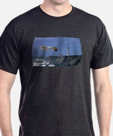 Lighthouse & Seagull T-Shirt