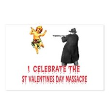 Anti-Valentine Firing Squad Postcards (Package of