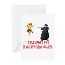Anti-Valentine Firing Squad Greeting Cards (Packag