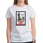 Defend Our Borders Women's T-Shirt