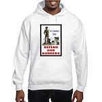 Defend Our Borders Hooded Sweatshirt