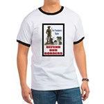 Defend Our Borders Ringer T