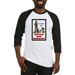 Defend Our Borders Baseball Jersey