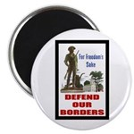 Defend Our Borders Magnet