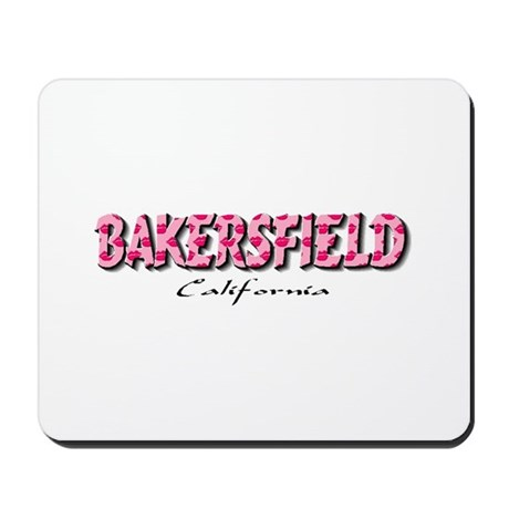Bakersfield Kisses Mousepad
