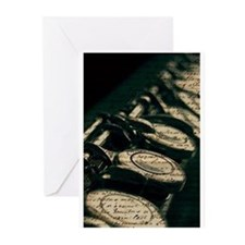 Flute Notes Greeting Cards (Pk of 10)