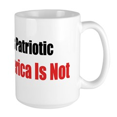 Dissent Is Patriotic, Hating American ISN'T Mug