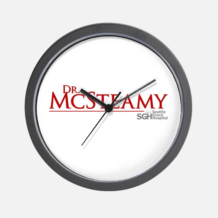 Dr. McSteamy Wall Clock