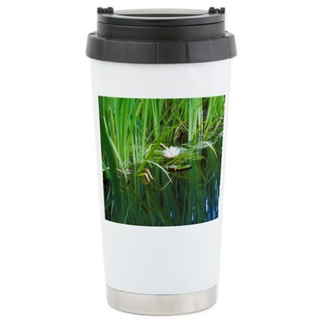 Cooling Effects Stainless Steel Travel Mug