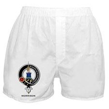 Morrison Clan Crest Badge Boxer Shorts
