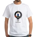 Morrison Clan Crest Badge White T-Shirt
