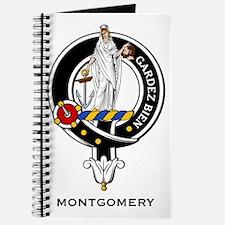 Montgomer Clan Crest Badge Journal