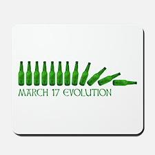 march 17 evolution Mousepad