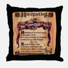hand fasting Throw Pillow