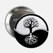 "wiccan tree 2.25"" Button"