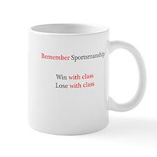 Sportsmanship (Text on front only) Mug