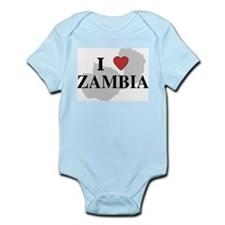 I Love Zambia Infant Creeper
