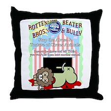 Boycott the Circus Throw Pillow