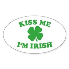 Funny Lucky march 17th saint patrick's day shamrock Decal