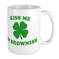 Kiss Me I'm Brownish Mug
