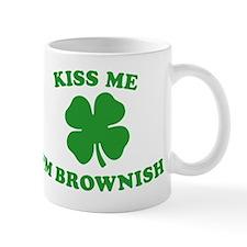 Kiss Me I'm Brownish Small Mug