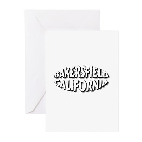 Bakersfield Circle Greeting Cards (Pk of 10)